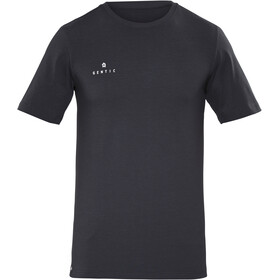 Gentic New School Tee Men Moonless Black